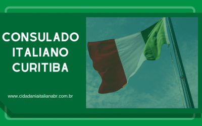 Consulado Italiano Curitiba – Cidadania italiana