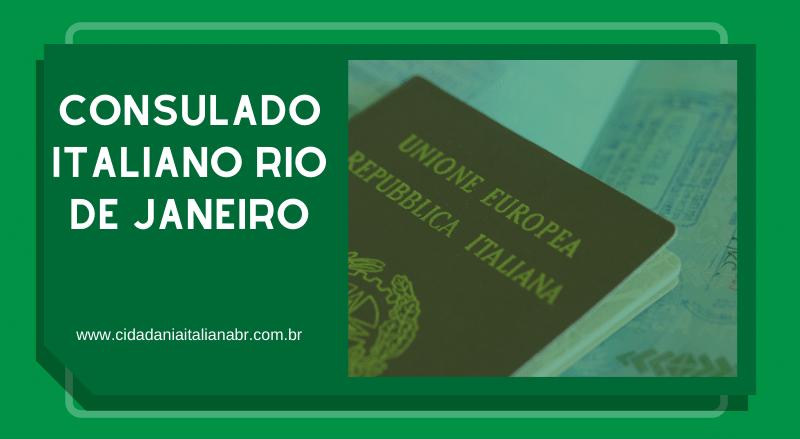 Consulado Italiano Rio de Janeiro